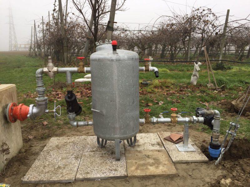 Disinfettare l'acqua del pozzo con i carboni attivi