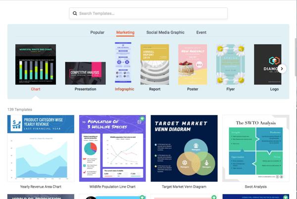 Template disponibili su DesignCap