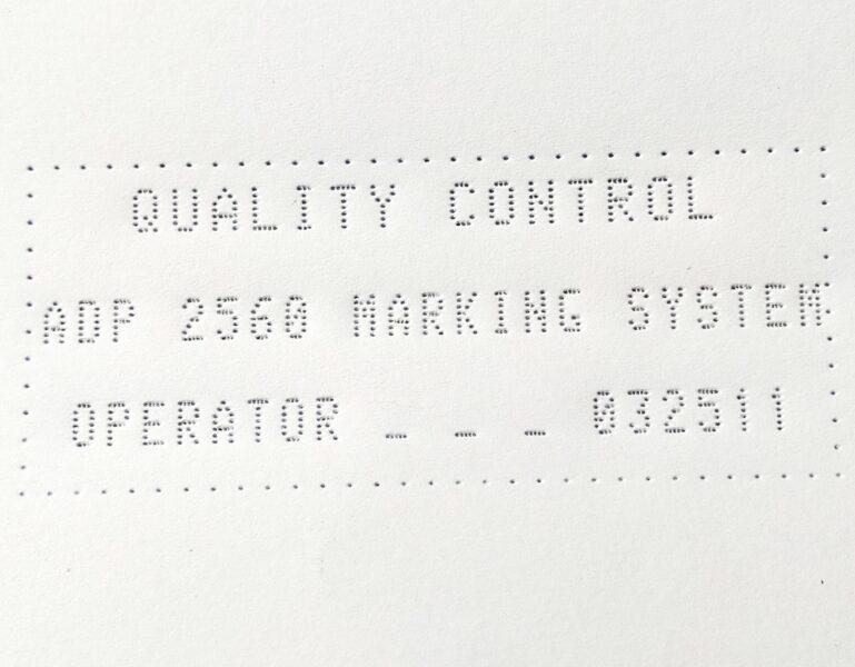 Tutti i segreti della marcatura a micropunti: cosa marcare con questa tecnica?