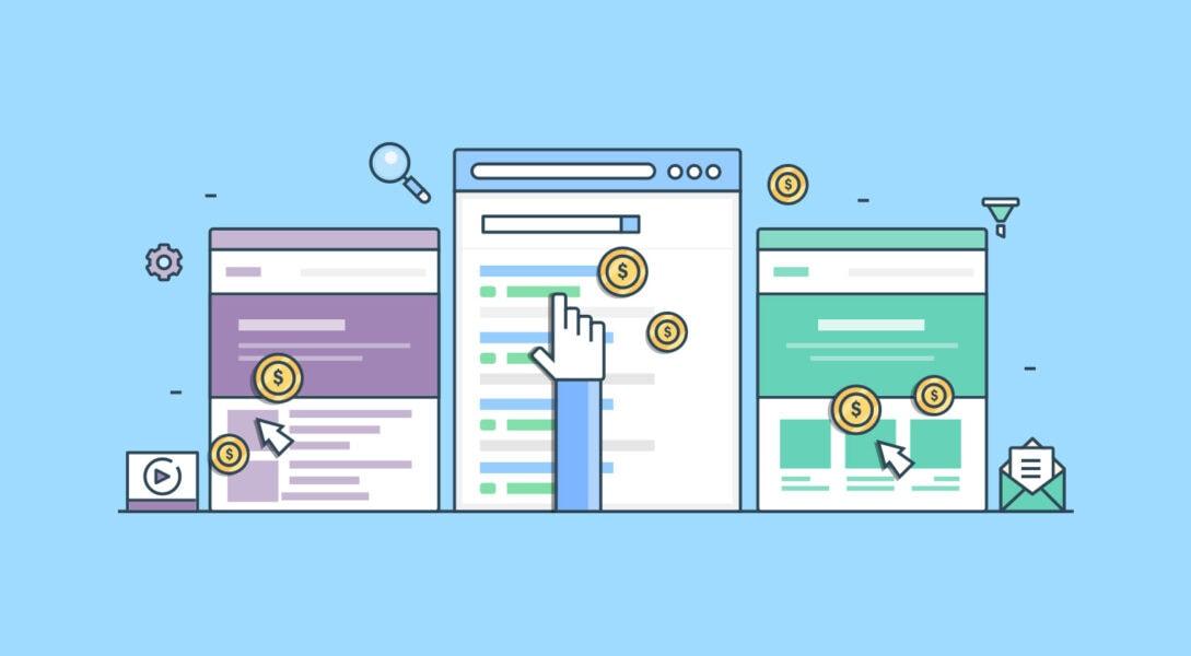Modalità di acquisto Pay per click