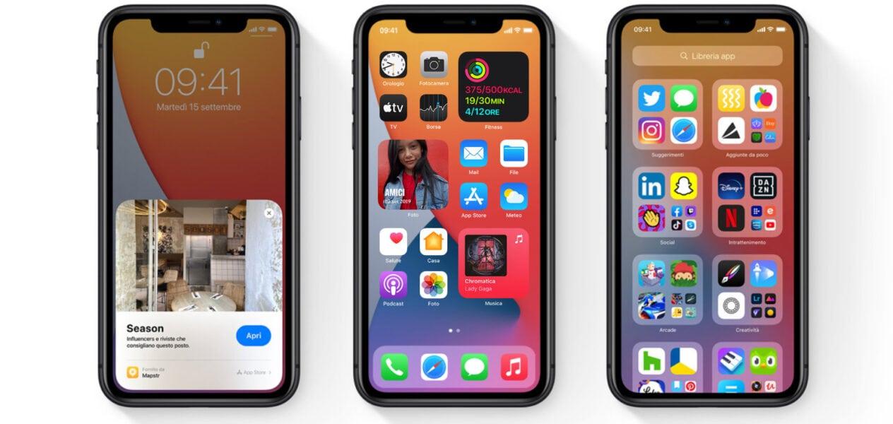 IOS 14: novità e dispositivi compatibili